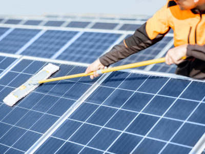 Why its a good idea to get your solar panels cleaned before spring